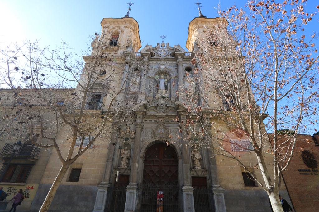The Basilica of San Juan de Dios - exterior