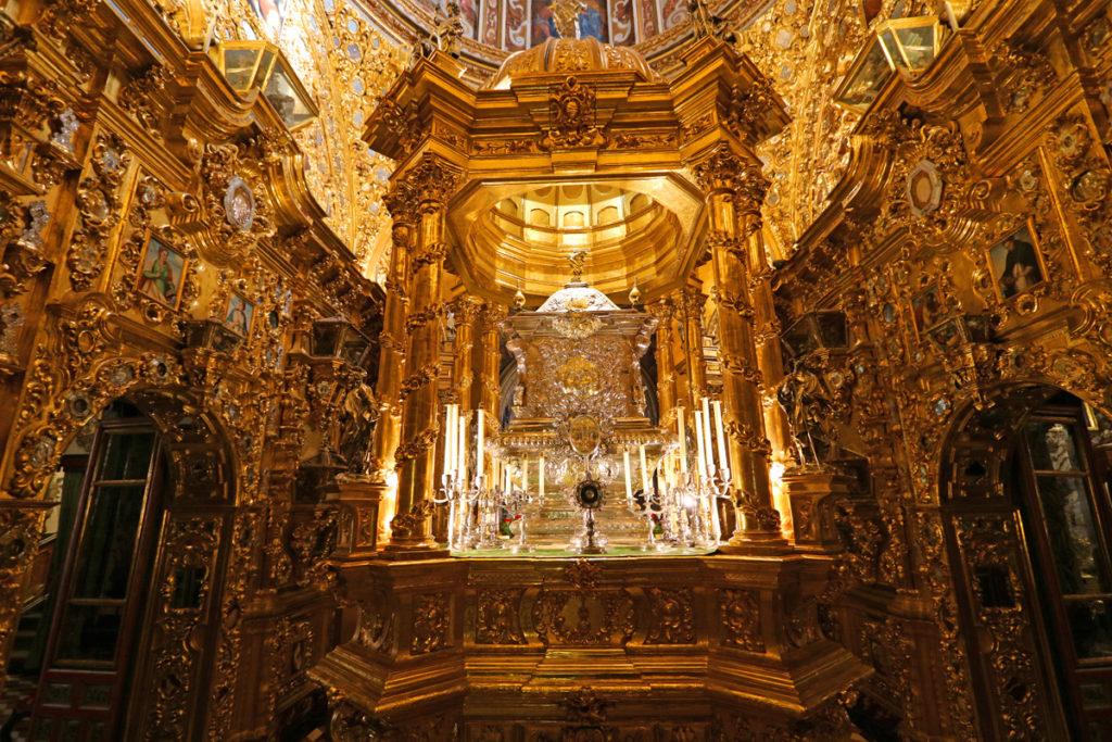 the most beautiful basilica in Granada Spain