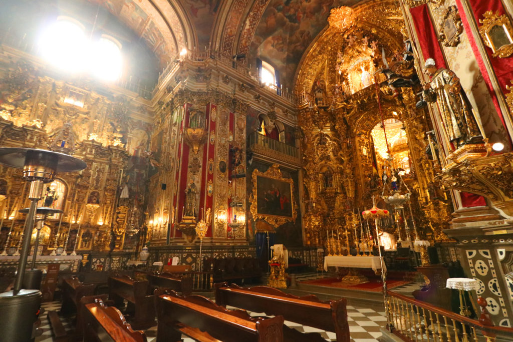 Incredible Basilica of San Juan de Dios