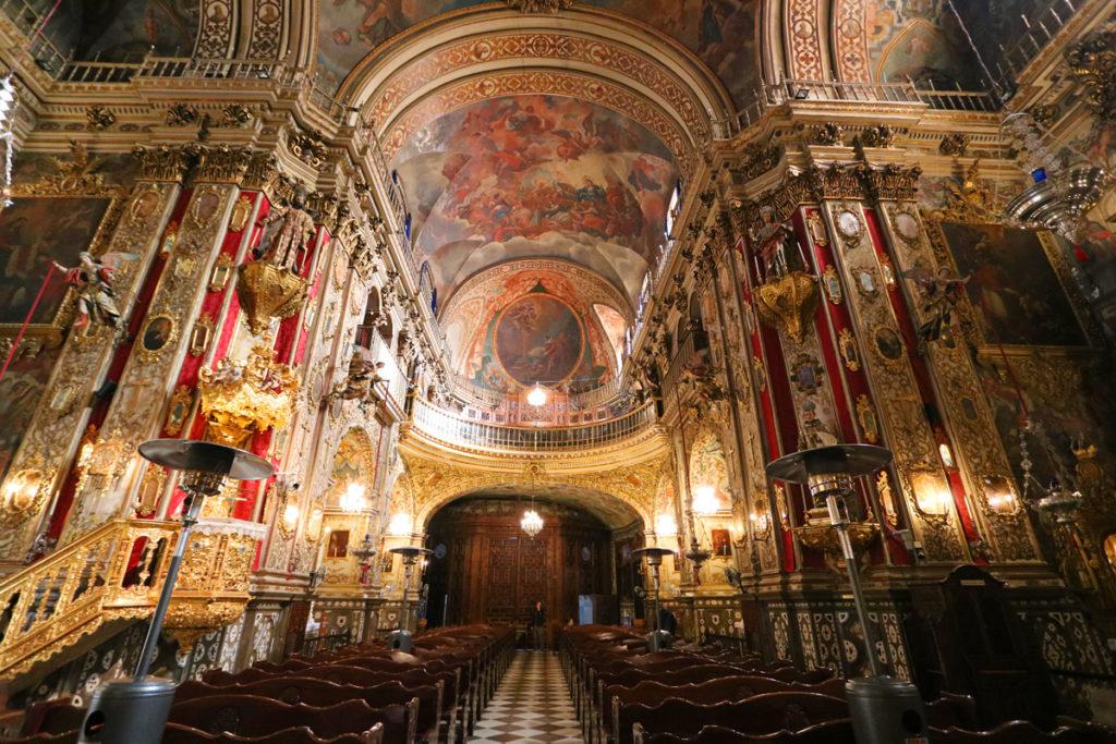 Basilica of San Juan de Dios in Granada Spain