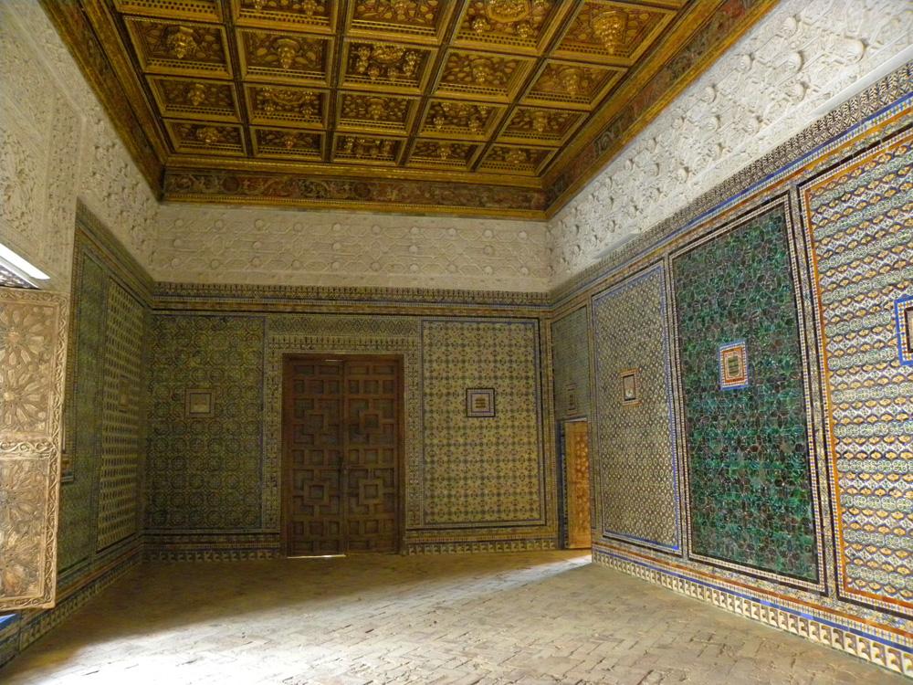 Tiled room at Casa de Pilatos, Seville