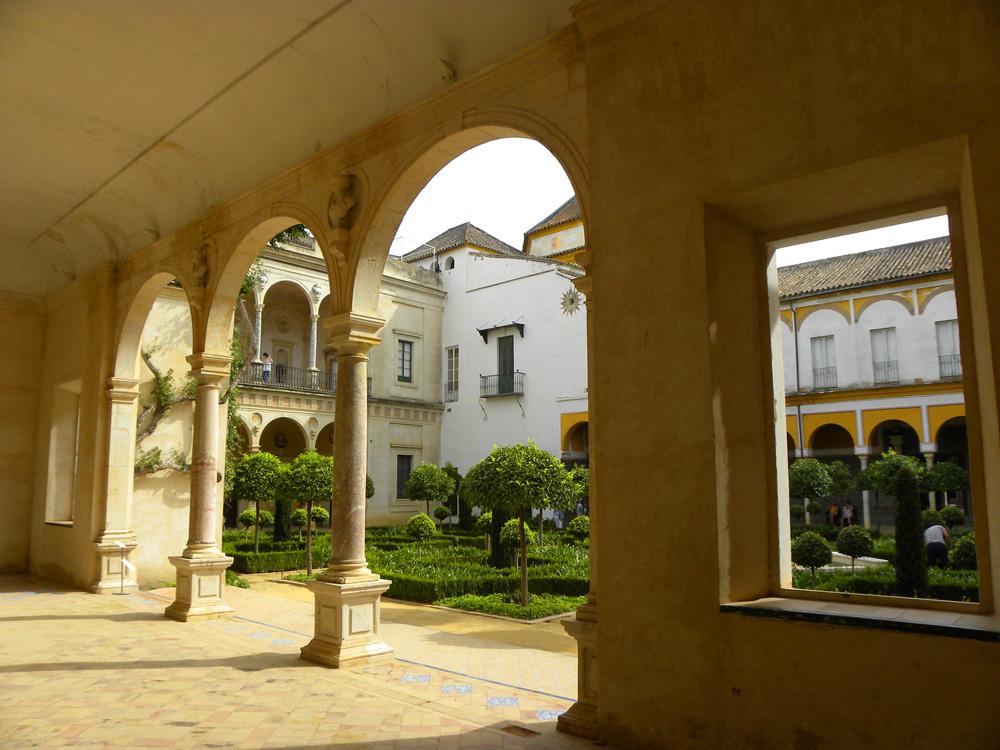 Garden at Casa de Pilatos
