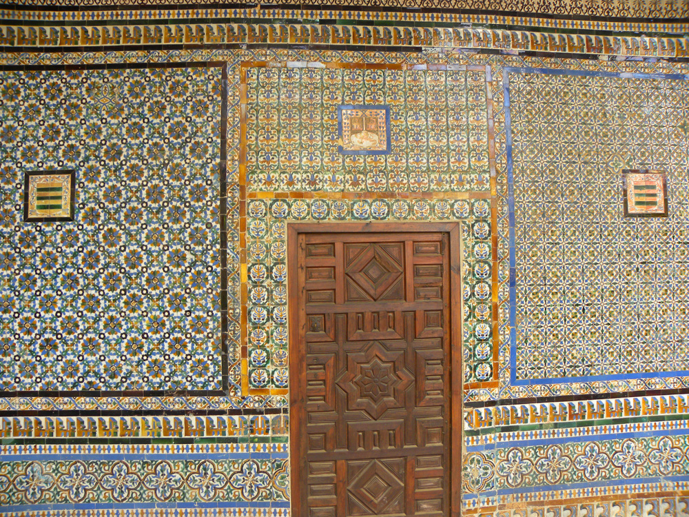 Incredible azulejos in Seville