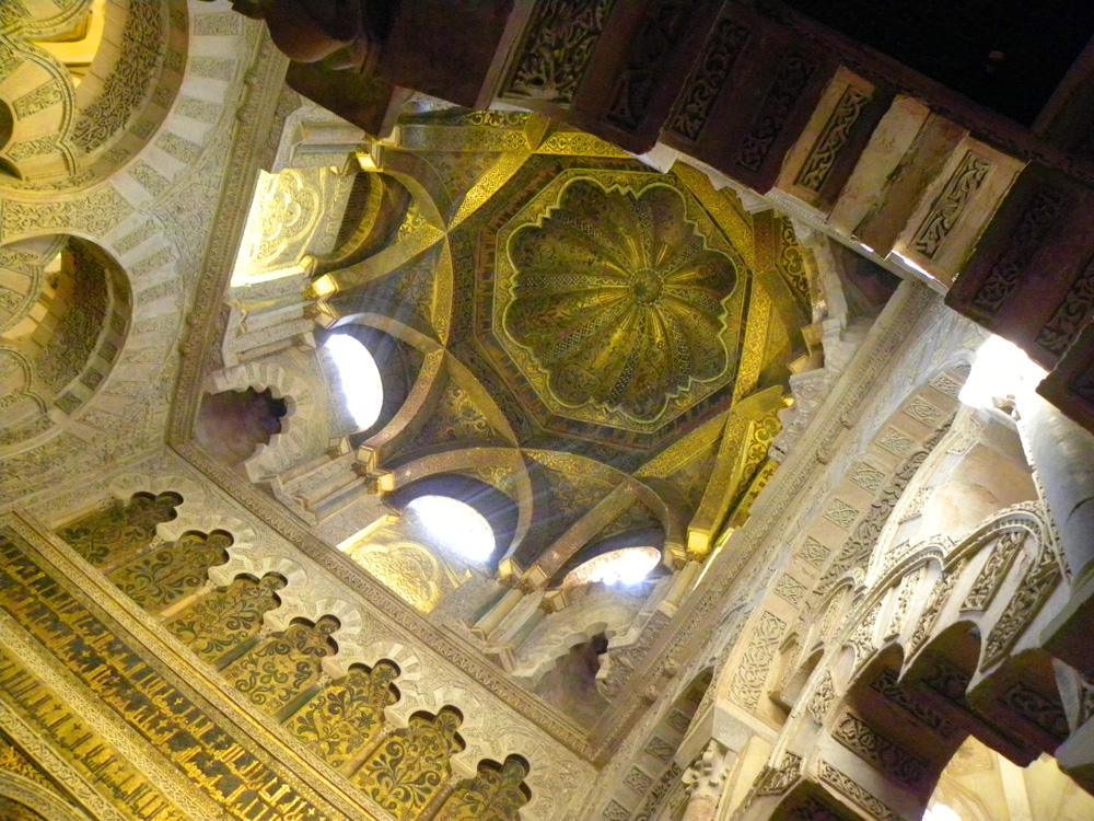 Ceiling, Mezquita in Cordoba