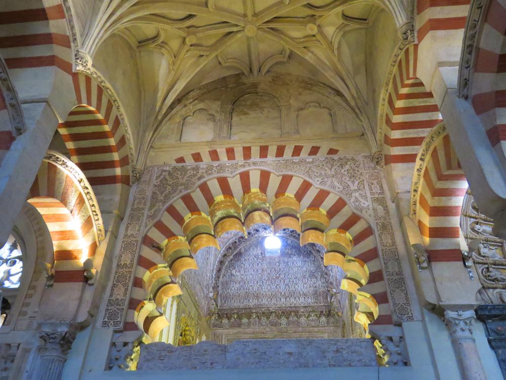 arches at the Mezquita, Cordoba