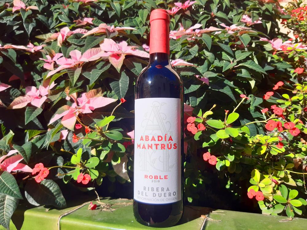Abadía Mantrús Roble Ribera del Duero 2019. Best wines at Mercadona