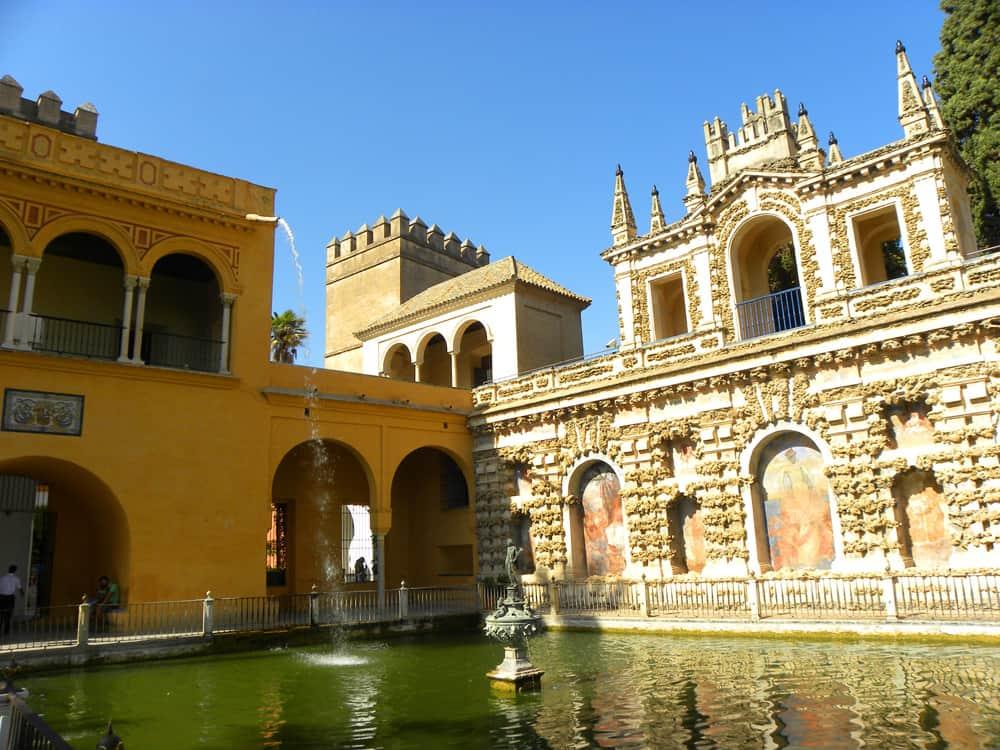 Mercury's Pool, Real Alcazar