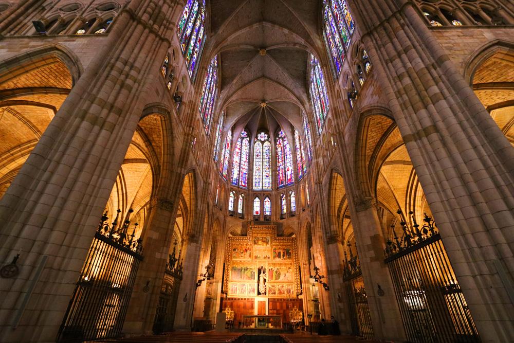 Santa María de León Cathedral interior