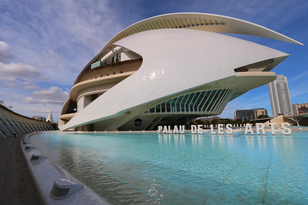 the City of Arts and Sciences complex, Valencia