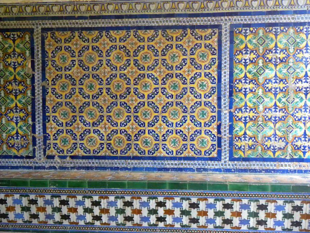 Tiles at the Real Alcazar, Seville