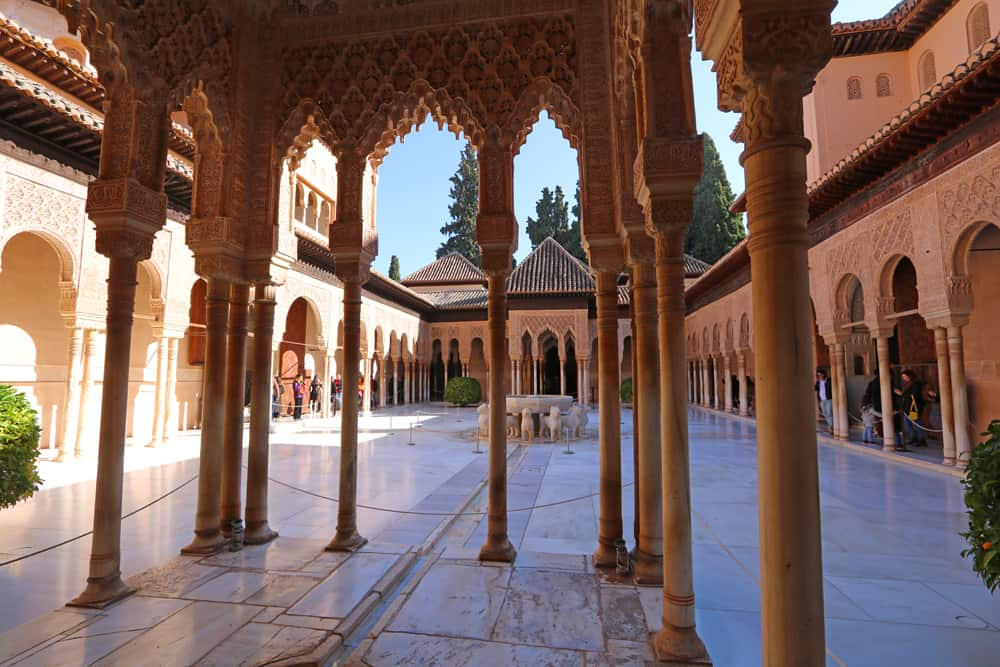 Palace of the Lions in Alhambra, Granada
