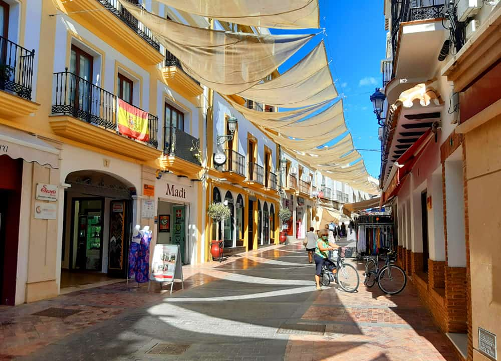 What is the town of Nerja like?