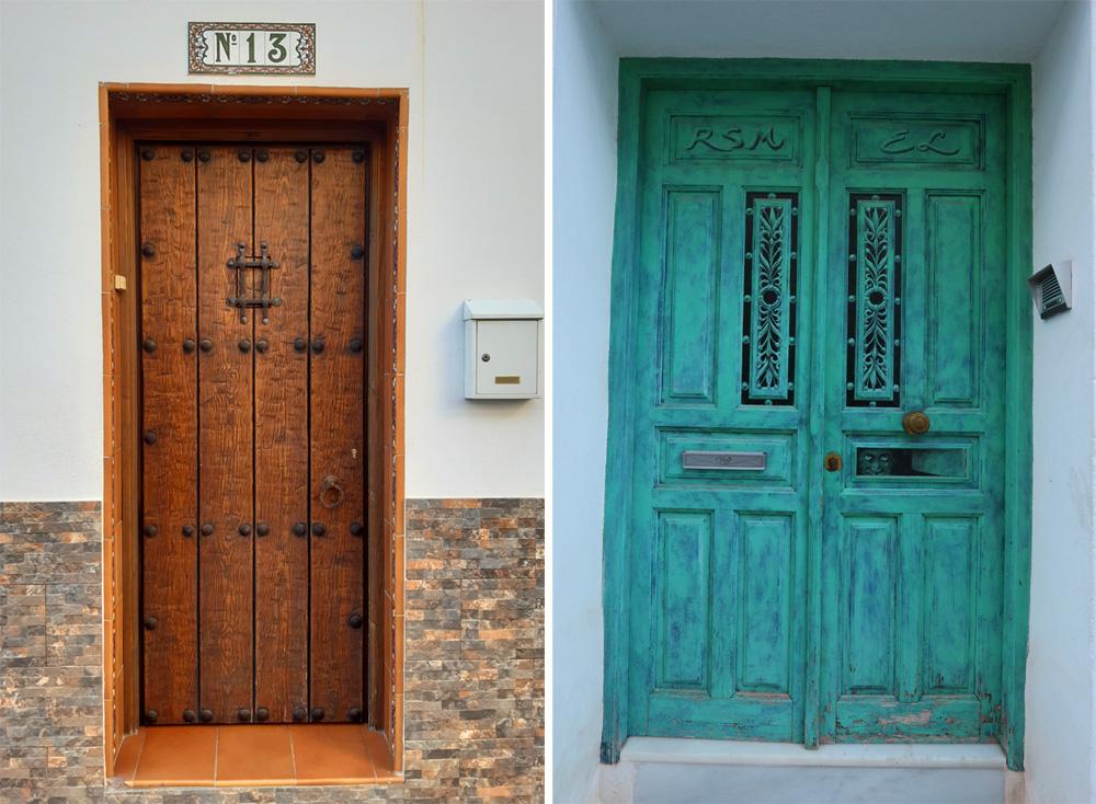 Doors in Nerja