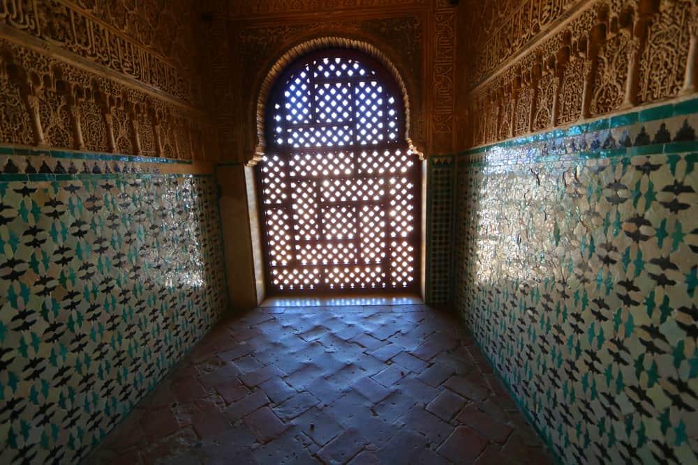 Azulejos in Alhambra, Granada