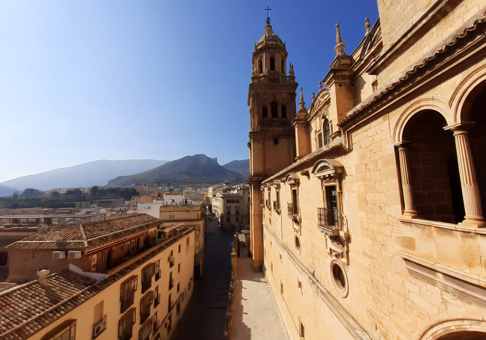 views from Jaen Cathedral
