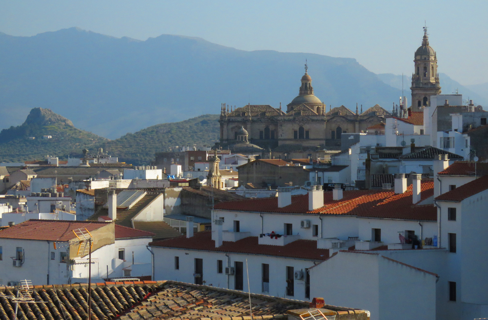 Views of Jaen  from the Villardompardo Palace