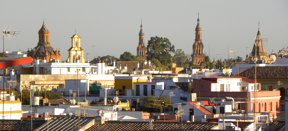 Views from the Metropol Parasol, Seville