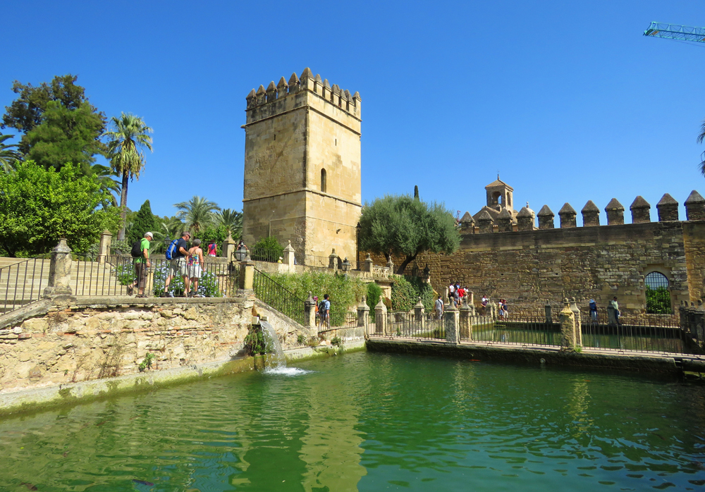 Alcázar of Córdoba, one of the top things to see in Cordoba