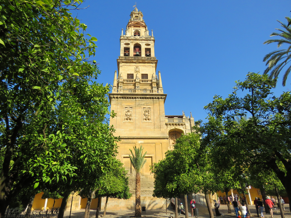 Mezquita Bell tower, Cordoba Spain